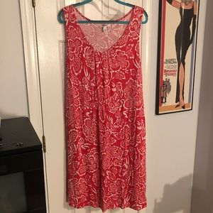 Pink Floral Plus Size Old Navy Dress 2x